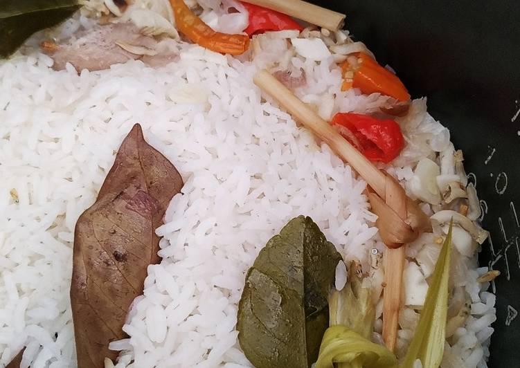Nasi Liwet Rice Cooker Resep Mertua