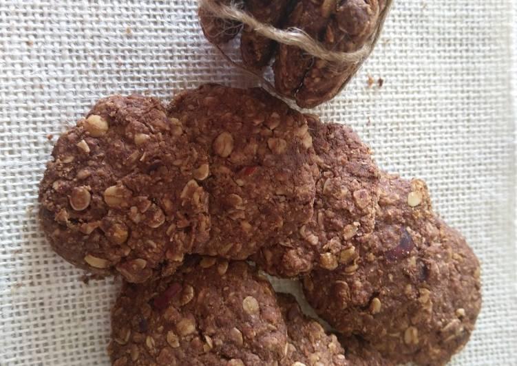 Dark Chocolate oats Cookie