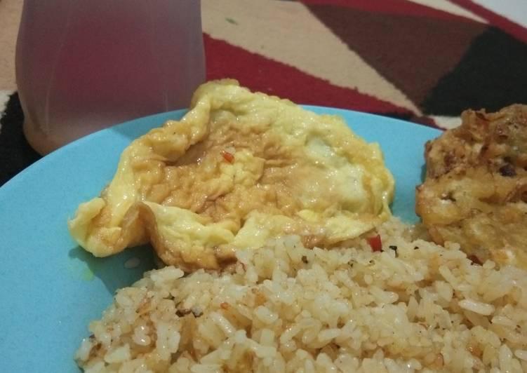 Resep Nasi goreng karee bikinan suami Paling Top