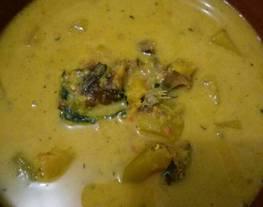 Gulai Jambe & Nurung Kerah (Gulai Labu Kuning&Ikan Sale)