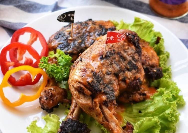 Ayam Bakar Ala Nando's #KCHUP - velavinkabakery.com