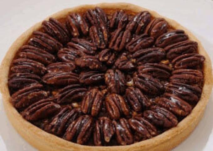 Recipe: Tasty Pecan Pie in 30 minutes!