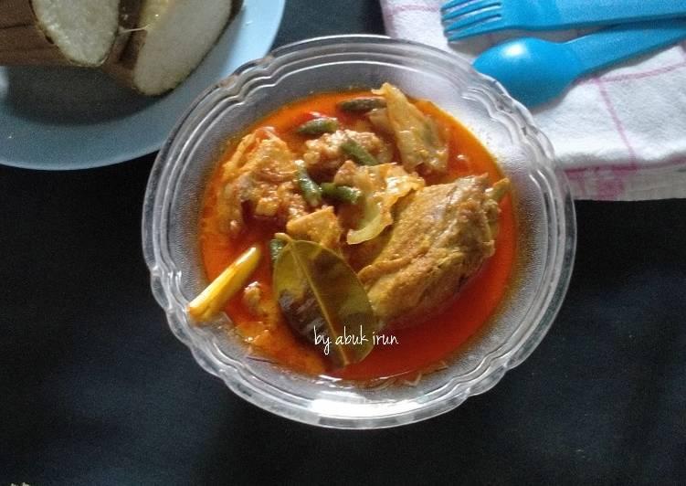 Resep Kare Ayam Sayuran Anti Gagal