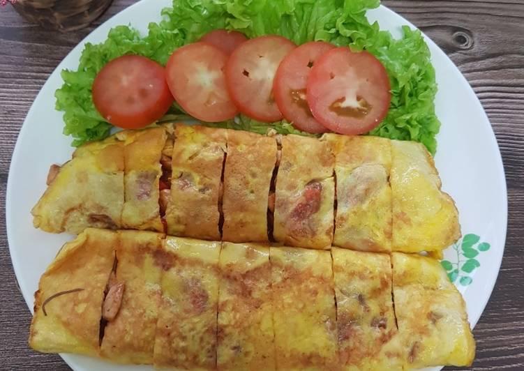 Telur Bungkus Isi Ayam #MunahMasak - velavinkabakery.com