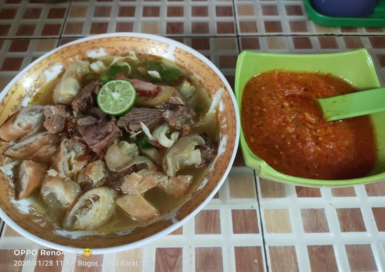 Soto mie Bogor homemade