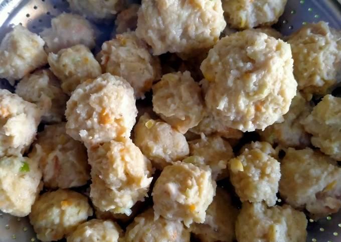 Bakso ayam mixs sayur