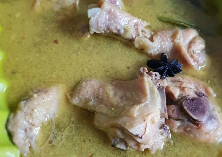Resep Mudah Opor Ayam Rempah Fiber Creme Terenak