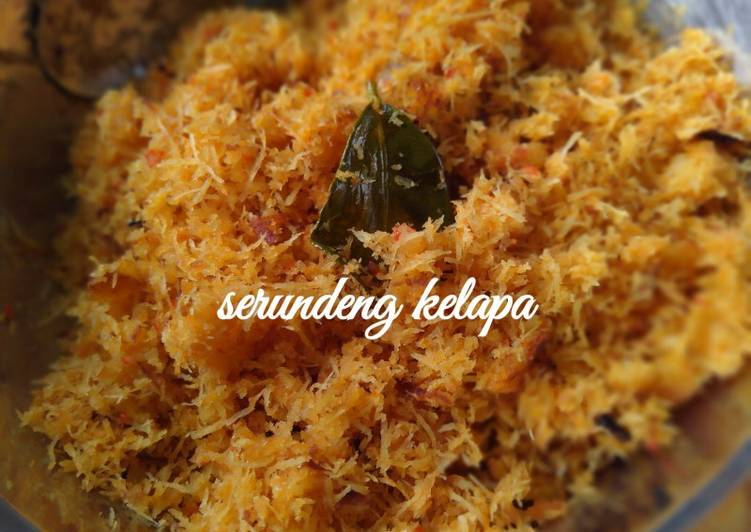 Serundeng kelapa - cookandrecipe.com