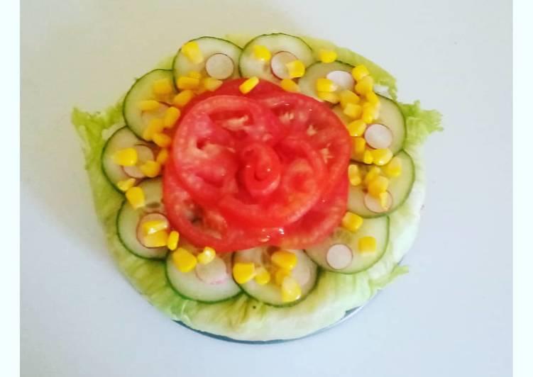 Comment Préparer Des Gâteau de salade 🥗
