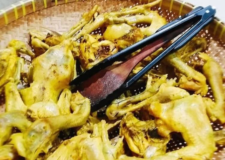Cara Mempersiapkan Resep Yummy Dari Ayam ungkep ala dapur bu deddy