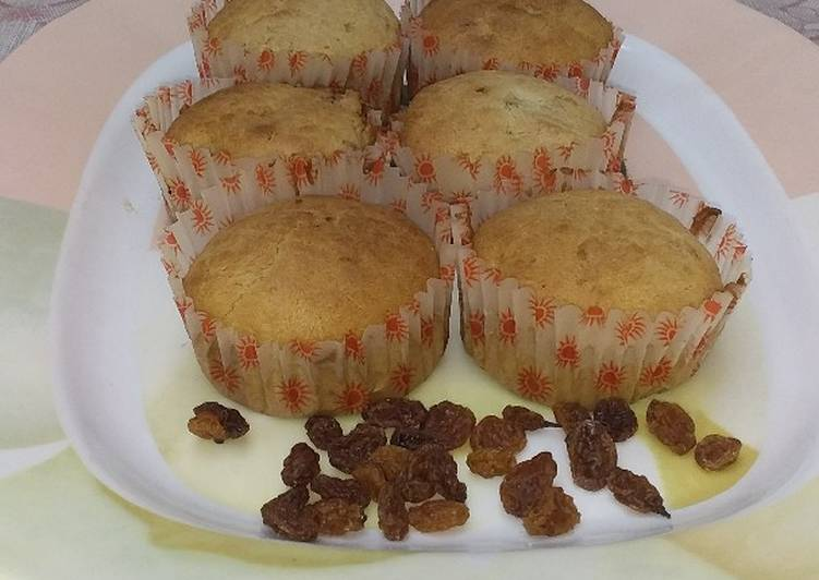 Steps to Prepare Quick Raisins cake