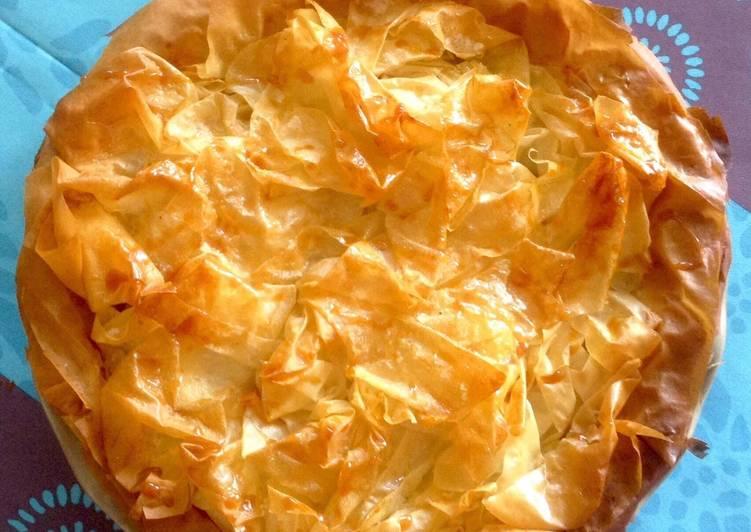 recette Tarte aux pommes feuilletage filo Le plus simple