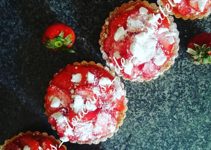 Tartelettes aux fraises express