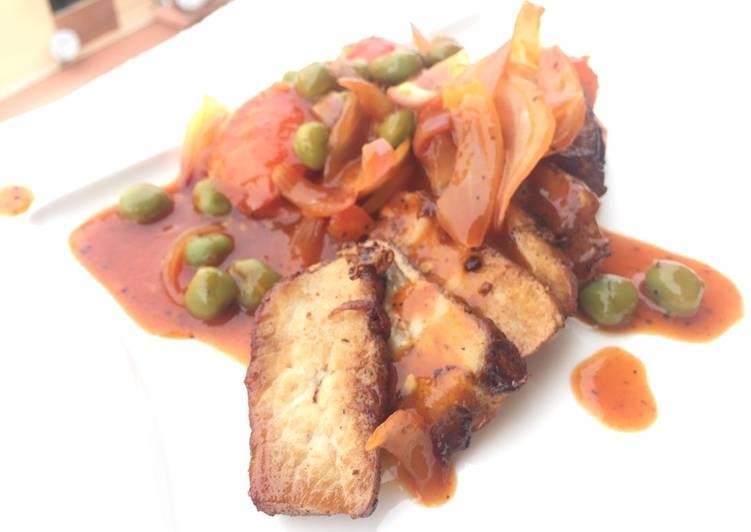Hainanese Style Pork Chop