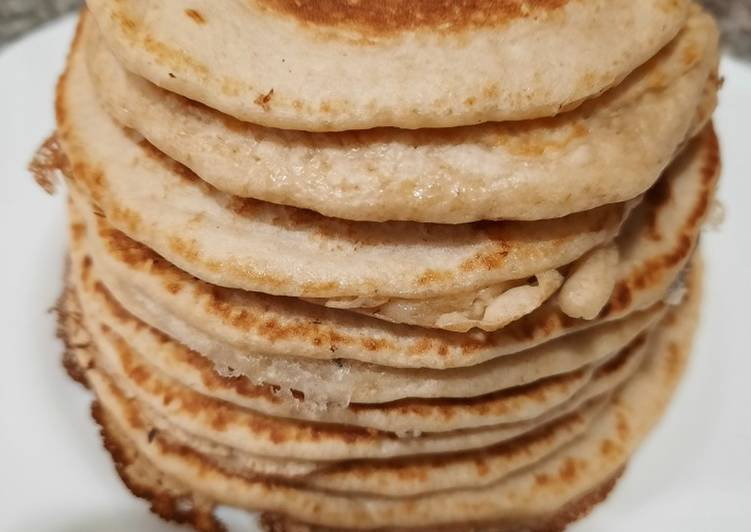 Pancakes saludables de avena