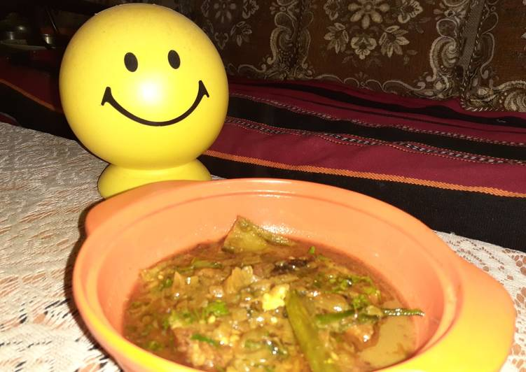 How to Make Most Popular Katla fish curry with eggplant
