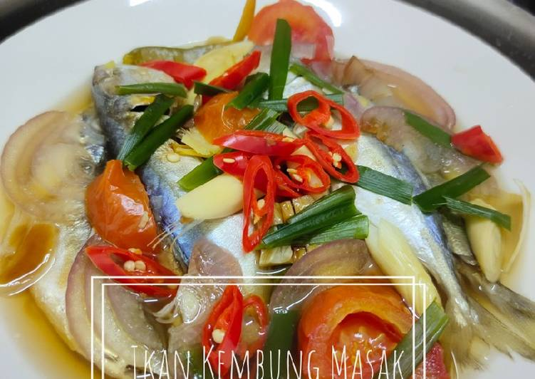 Ikan Kembung Masak Kukus Oyster Sauce