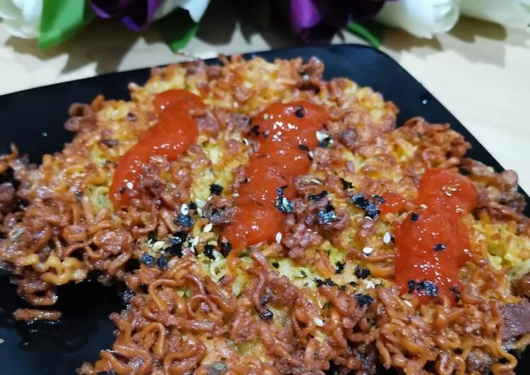 Resep Martabak IndoMie goreng Renyah – tanpa di rebus Paling Gampang