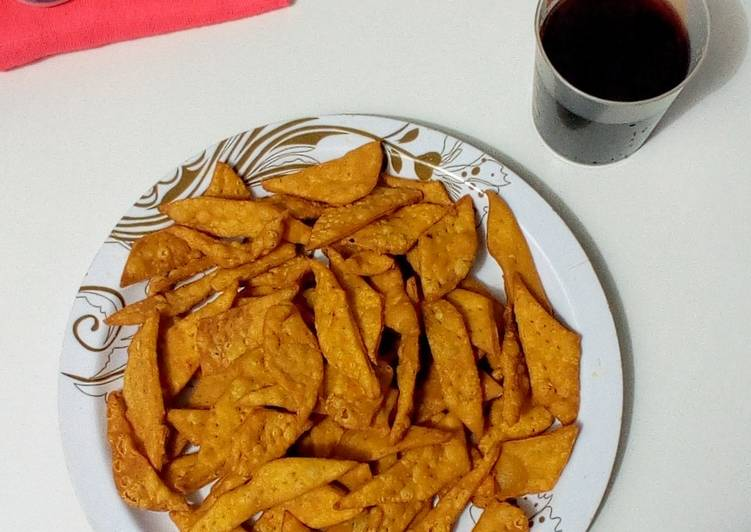 Steps to Prepare Perfect Spicy crackers