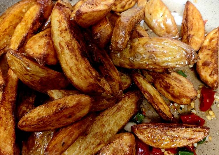 Steps to Prepare Favorite My Jacket Chips with chilli and onion flavouring