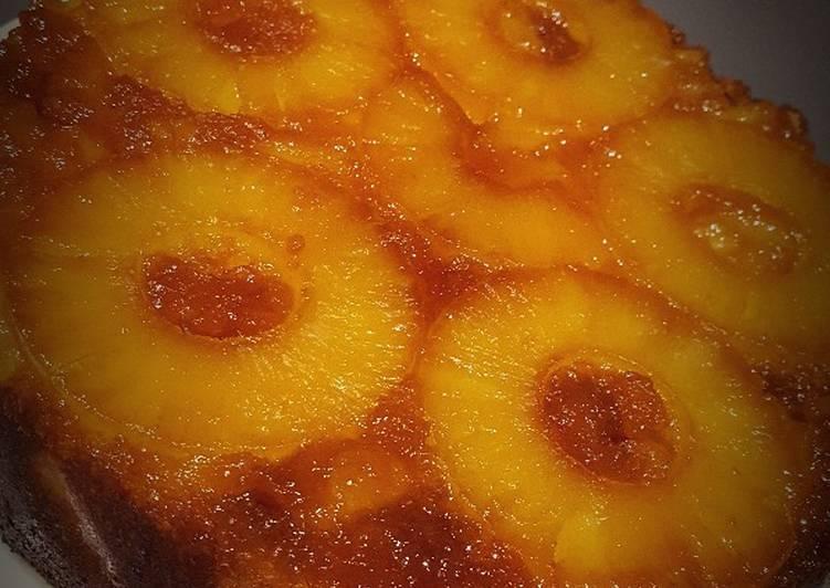 Le moyen le plus simple de Faire Appétissante Gâteau renversé à l'ananas