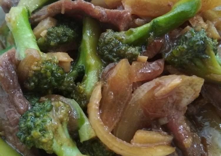 Beef brokoli teriyaki