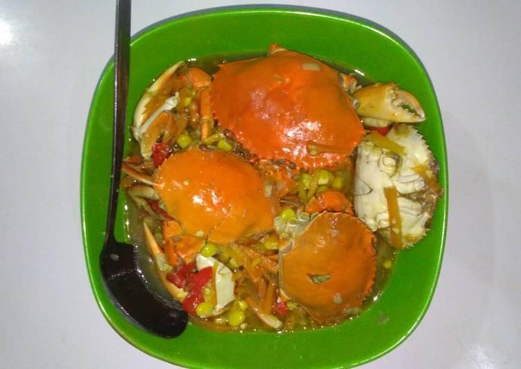 Sup Kepiting Asam Manis