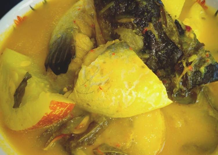 Masak Tempoyak Ikan Patin #KCHUP