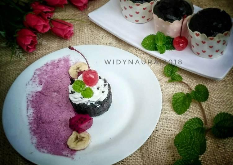 Oreo cup cake brownies #pr_egglesscake