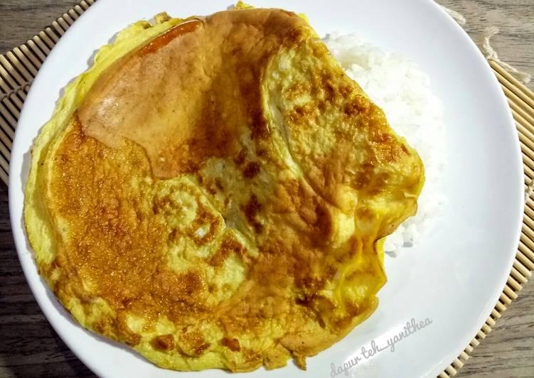 Telur Dadar Biasa Wangi dgn Minyak Wijen #BikinRamadanBerkesan