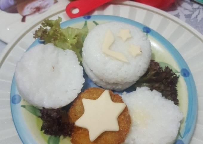 Resep Healthy Nugget Rice Burger For Breakfast Ala Fe Maree Oleh Cia Febri Cookpad