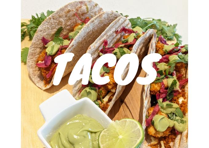Crispy Spicy Cauliflower Tacos |🌱Vegan