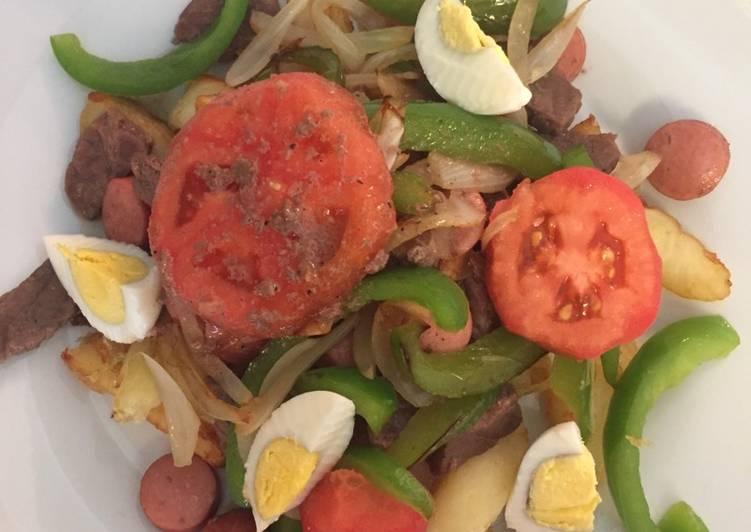 receta de pavo relleno al horno boliviano