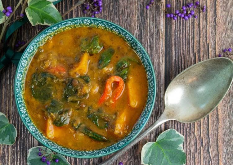 Recette Délicieuse Soupe marocaine aux lentilles