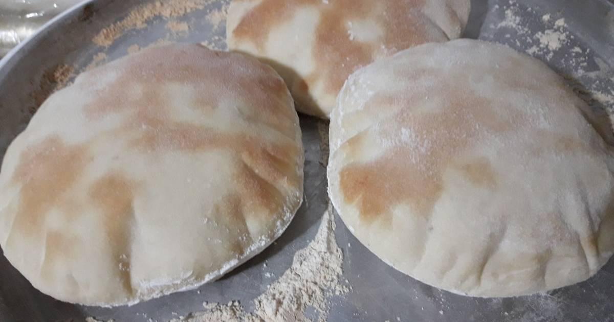 Pan árabe O Pan Pita Casero Receta De Gablihuen Cookpad