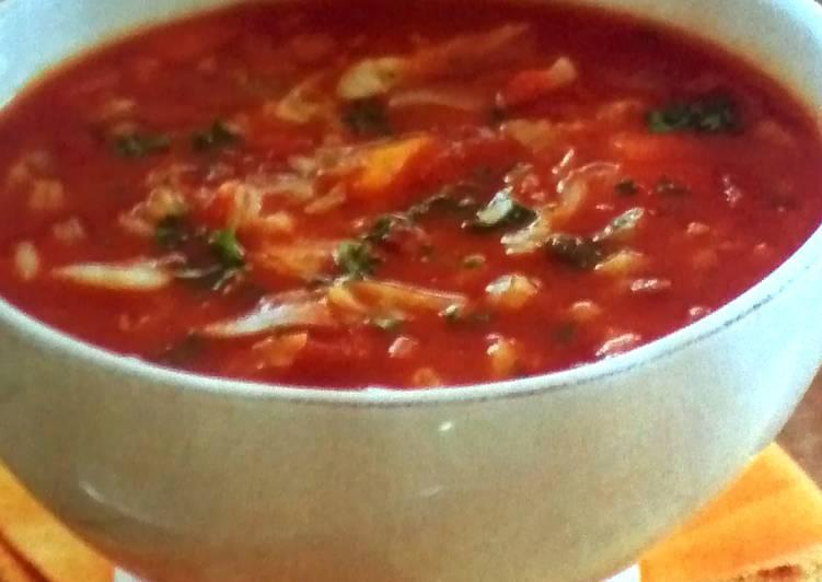 Bacon, Tomato & Barley Soup