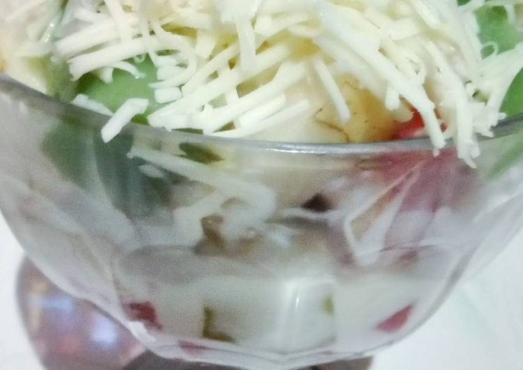 Salad Buah Creamy