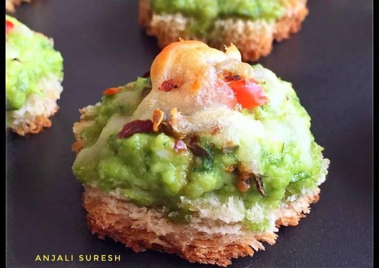 Simple Way to Prepare Ultimate Cheesy Palak Paneer Bites !!