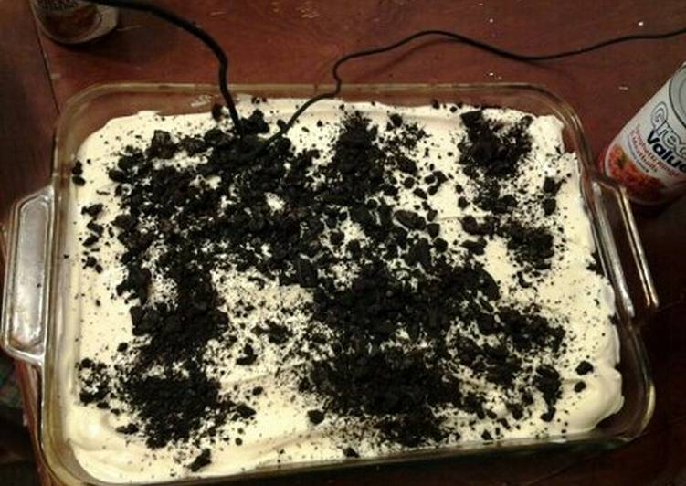 Easiest Way to Prepare Perfect Dirt pudding