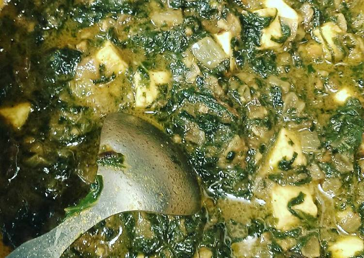 How to Prepare Yummy Palak paneer