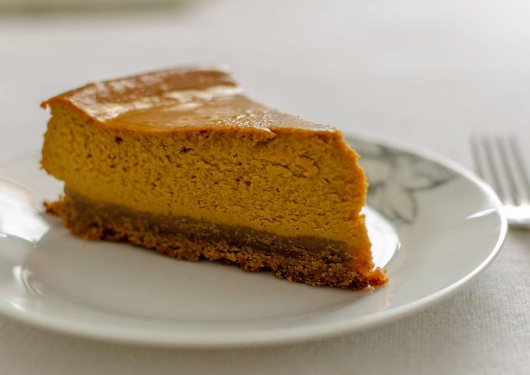 Recipe of Ultimate Pumpkin cream Cheesecake