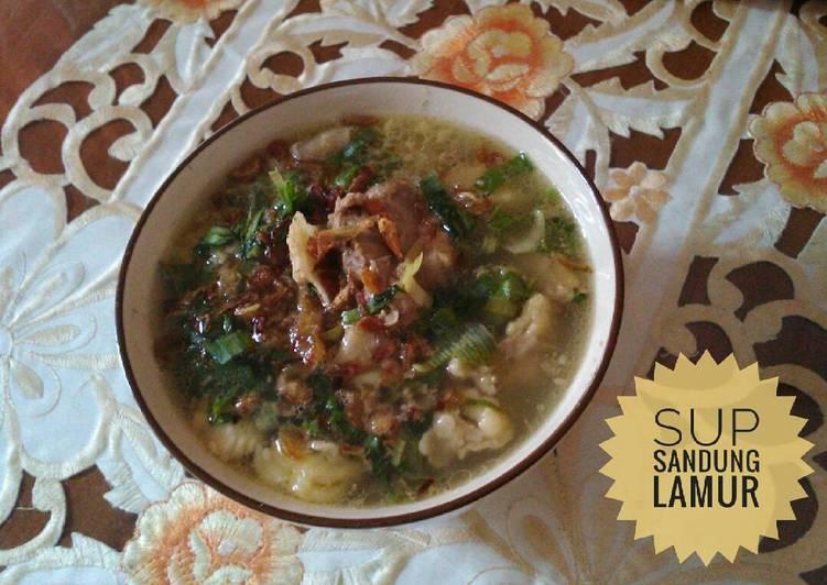 10 Resep: Soup Sandung Lamur #ketopad_cp_anekasoup Anti Ribet!
