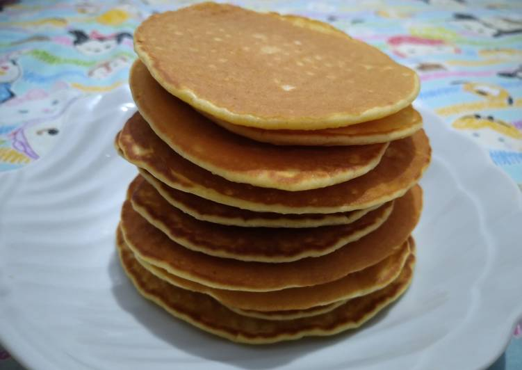 Resep Pancake simple Paling Top