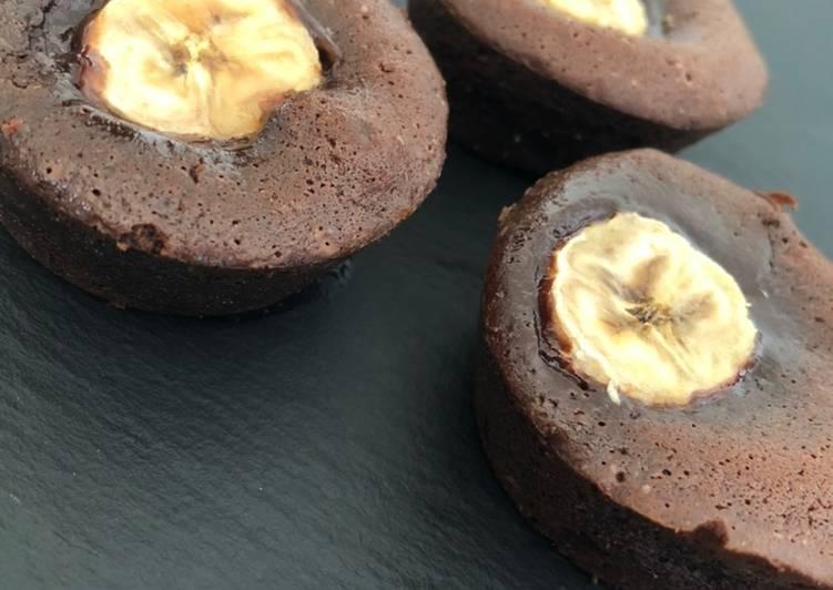 recette Fondant Choco-banane 🍌 🍫 délicieux
