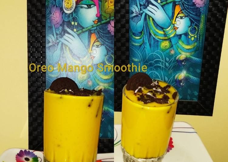 Oreo Mango Smoothie
