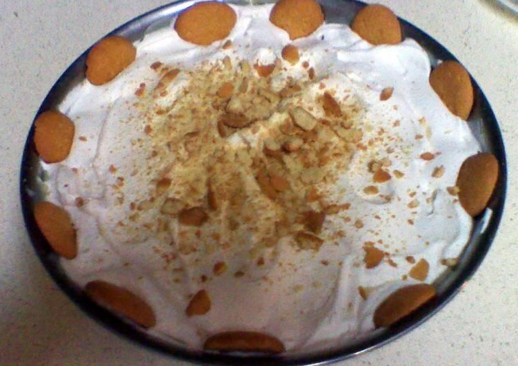 My idea of Banana Pudding