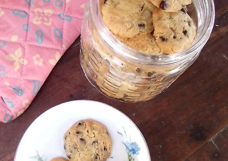 Eggless Pudding Susu Chocochips Cookies n Mayones~NO PENGEMBANG