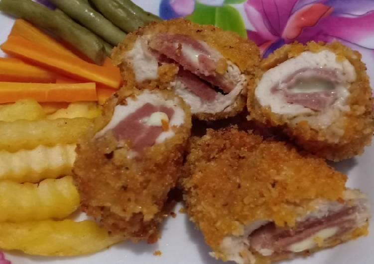 Chicken Cordon Bleu anti gagal