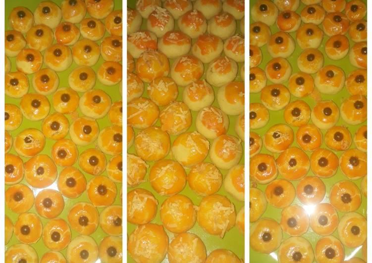Nastar lumer di mulut perpaduan selai nanas, keju dan chocochip