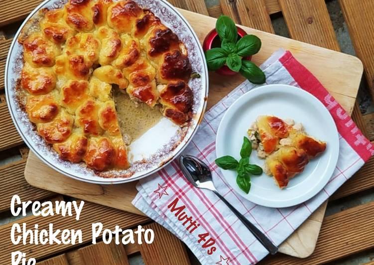 Creamy Chicken Potato Pie